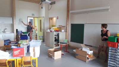 Installation des classes